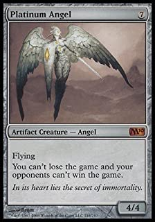 Magic: the Gathering - Platinum Angel - Magic 2010 - Foil