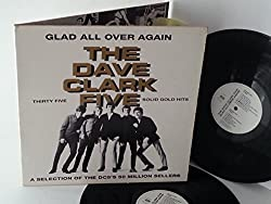 THE DAVE CLARK FIVE glad all over again, double album, gatefold, EMTV 752
