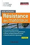 Aide-mémoire - Résistance des...