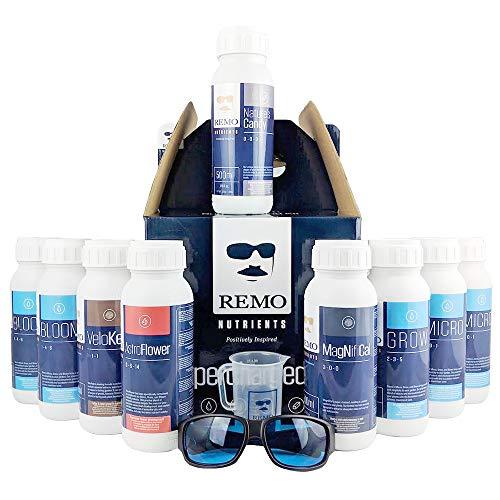 Remo's Supercharger - Starter kit completo idroponico, 9 x 500 ml
