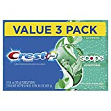 Crest + Scope Complete Whitening Toothpaste, Minty Fresh, 5.4 oz, Pack...