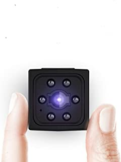 Ltteny Mini Cámara, 1080P HD Grabadora de Video portátil con Detector de Movimiento de visión Nocturna por Infrarrojos, Mi...