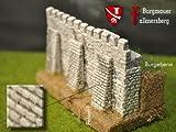 Burgmauer Falknersberg mit Stützpfeilern