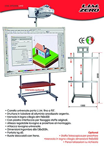 lim0 Cart Universal-Tafel interaktive Multimedia Maximum-95 '