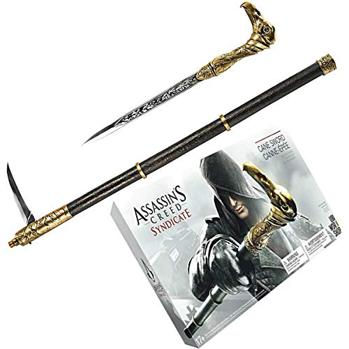 ☞ Product: 1 * 100% brand new Assassin's Creed No. 6 sword stick ☞ AR color box size: 67 * 61 * 51.2 cm ☞ Weight: 630 grams ☞ Material: environmentally friendly PVC. ☞ Packaging: Exquisite gifts and exquisite artwork are perfect gifts for friends or ...