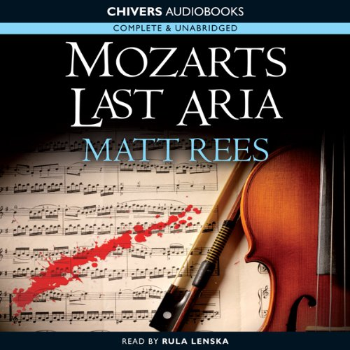 Mozart's' Last Aria audiobook cover art