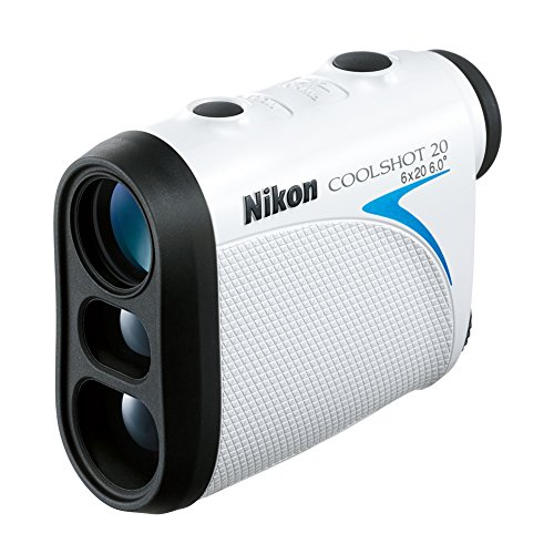 Nikon Coolshot 20 Golf Rangefinder (Two Batteries Included)