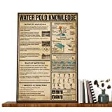 Poster Water Polo It's About Being Better - Water Polo Knowledges - Impression « Water Po...
