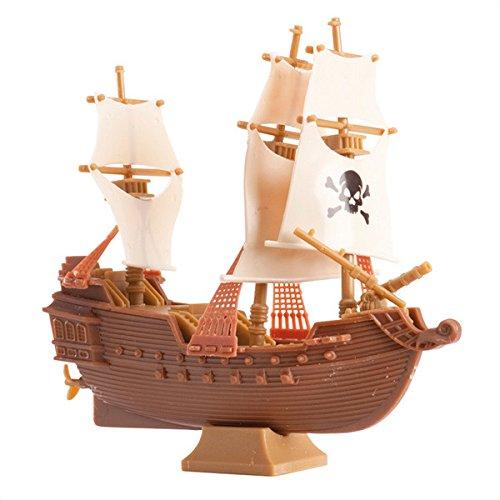 Dekoration Piratenschiff für Kuchen