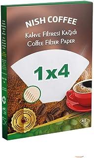 Nish Filtre Kahve Kağıdı, 1X4, 40 Adet