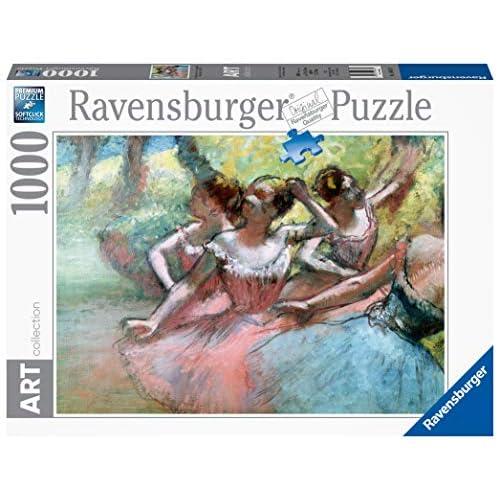 Ravensburger Degas: Four ballerinas on the stage Puzzle, 1000 Pezzi, Multicolore, 14847