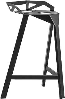 Clásicos De Hierro Sillas De Comedor - Industrial Respaldo Alto Metal Silla De Comedor De Cocina para Restaurante Patio Café Barbacoa