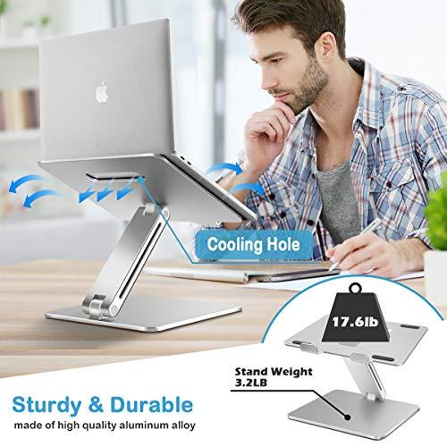 B-Land-Laptop-Stand-Ergonomic-Adjustable-Laptop-Holder-Laptop-Riser-Aluminum-Notebook-Computer-Holder-Stand-Compatible-with-MacBook-Air-Pro-Dell-XPS-Samsung-Lenovo-Alienware-All-Laptops-10-17