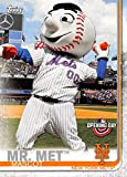 2019 Topps Opening Day Mascots #M-20 Mr. Met New York Mets MLB Baseball Trading Card