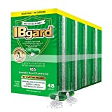 IBgard for The Dietary Management of Irritable Bowel Syndrome (IBS) Symptoms Including, Abdominal Pain, Bloating, Diarrhea, Constipation*, 192 Capsules (4 Pack)