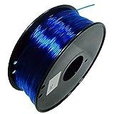 Filamento Per PC Filamento Per Stampante 3D Filamento In Policarbonato Per PC Resistente Alle Alte Temperature 1,75 Mm Bobina Da 1 Kg Materiale Di Stampa Precisione Dimensionale (Color:Azzurro chiaro)