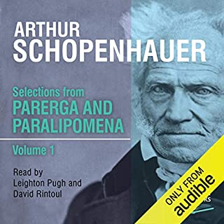 Selections from Parerga and Paralipomena Volume 1 cover art