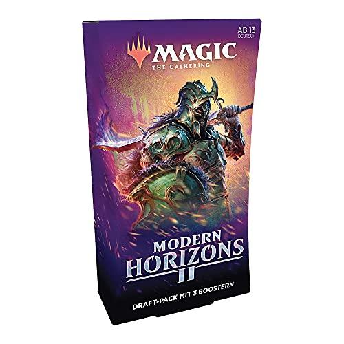 Magic the Gathering Modern Horizons 2, 3 Booster-Draft-Pack (versión Alemana) (Wizards of The Coast C78561000)
