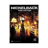 Hal Leonard Nickelback aquí y ahora guitarra Tab libro (estándar)