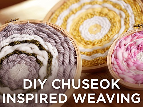DIY Chuseok Inspired Weaving