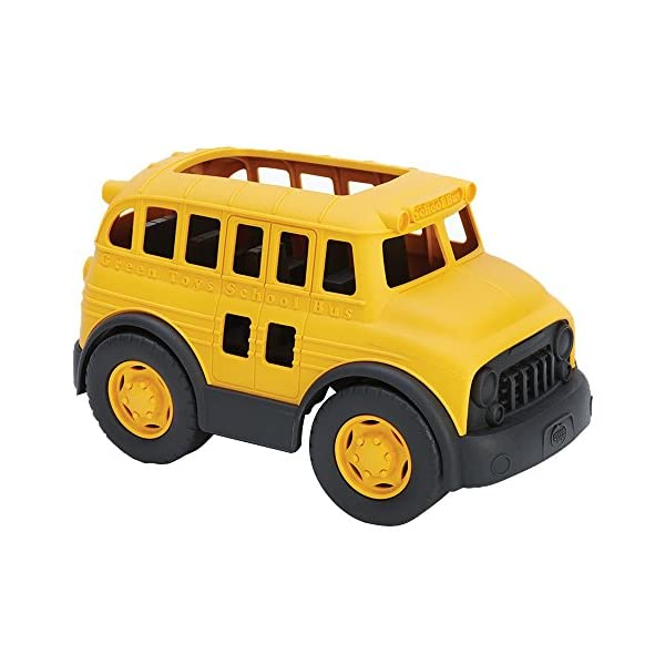 Green Toys School Bus Close Up