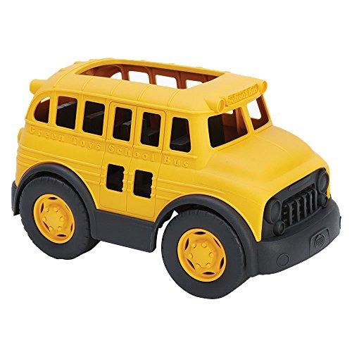 Green Toys schoolbus, speelgoedauto