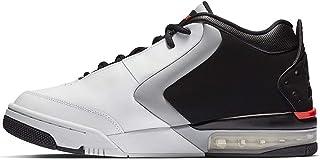 BV6273-101: Men's Big Fund White/Infrared 23 Black/Grey Sneaker