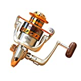 Goswot Left/Right Interchangeable 12BB Ball Bearing Saltwater/Freshwater Fishing Spinning Reel (EF500)