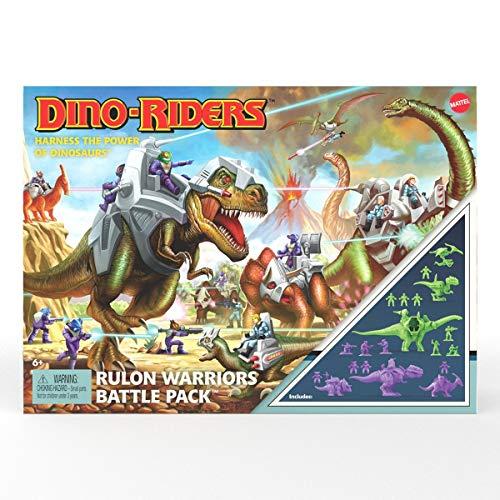 Dino-Riders Rulon Warriors Battle Pack Mattel GYY42
