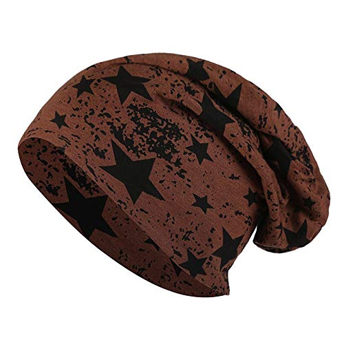 H/A CRCOG Invierno Gorra cálida Hembra Hombre de Punto Sombreros Casuales sin orinales, Hombres y Mujeres CRCOG (Color : A4 Coffee)