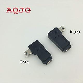 ca3050e05 Cables & Connectors 1pair 90 Degree Right + Left Angle Mini 5pin USB B Male  to