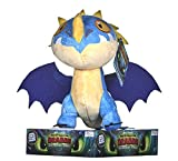 dreamworks 12437 Train Your Dragon 3 Storm Fly - Peluche (32 cm), Multicolor