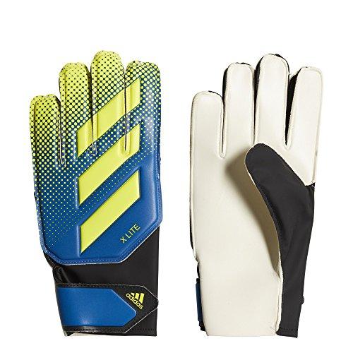 adidas X Lite Soccer Goalkeeper Gloves Football Blue/Solar...