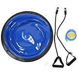 Material de PVC Bola de Equilibrio de Yoga, Equilibrio Bal, Bola de Fitness, para Fitness Yoga(Blue)