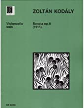 Kodaly, Zoltan - Sonata, Op. 8 - Cello solo - Universal Edition