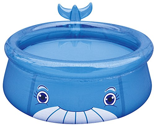 Jilong Whale Pool Ø 175 x 62 cm Quick-Up kinderzwembad in walk-design kinderzwembad kinderzwembad voor tuin en terras