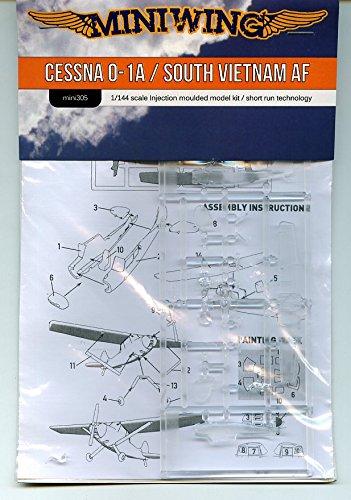 ミニウイング・プラスチック 305 1/144 セスナ O-1A バードドッグ(南ヴェトナム空軍)