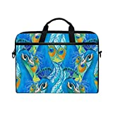 Peacock and Rooster 15-15.4 inch Laptop Sleeve Case Notebook Waterproof Computer Bag