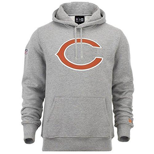 New Era Herren Chicago Bears Hoodie, Grey, 3XL