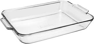 Anchor Hocking 81935OBL11 Oven Basics Bake Dish, 5 quart, Clear