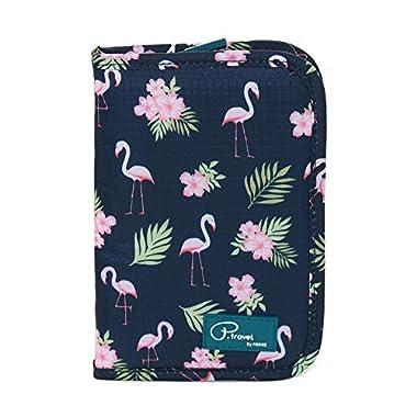 Travel Wallet Passport Holder for Women RFID Blocking Waterproof Document Organizer Credit Card Clutch Bag for Travel Accessories