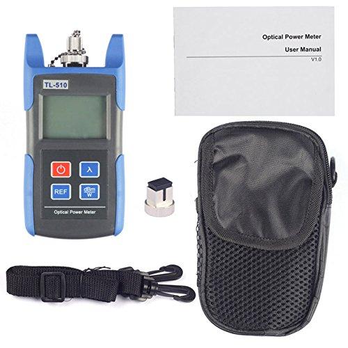 J-Deal® TL510C Portable Optical Fiber Power Meter Tester Measure -50 ~ +26 dBm Connector SC FC for CCTV Test