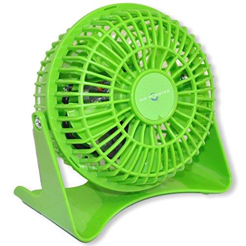Air Monster Mini Tischventilator - Ø 10cm - 15W - grün