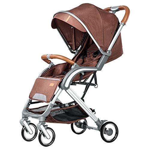 Sale!! DZFZ Baby Stroller Can Sit Reclining Light Folding Umbrella Outdoor Car 0-3 Years Old Baby St...