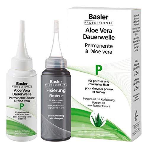 Basler Aloe Vera Dauerwelle Set P, für poröses und gefärbtes Haar