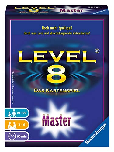 Ravensburger Kartenspiele 20767 - Level 8 Master
