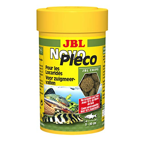JBL Novo Pleco Chips for Aquariums 100 ml - Pack of 4