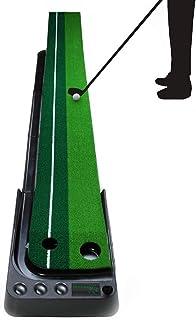 Enhong ボールが帰ってくる! パター練習器 自動 返球 セット ゴルフボール(6個入) コンパクト
