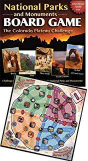 National Parks & Monuments Board Game -The Colorado Plateau Challenge-