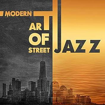 Modern Art of Street Jazz: Relaxing Instrumental Jazz Songs, Smooth Jazz Lounge After Work, Funky Bossa Nova Jazz Music